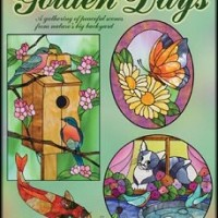 Golden Days Stained glass book
